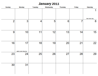 Large Monthly Printable Calendar - CalendarsQuick.com