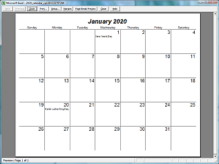 Can You Write in Printable Calendars by Month