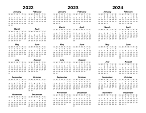photograph relating to Printable Year Calendar identify Printable Annually Calendars - CalendarsQuick