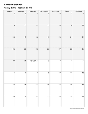 one week calendar with time slots