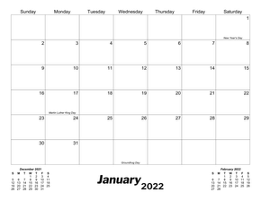 picture relating to Printable Calendars Free known as Cost-free Printable Calendars - CalendarsQuick
