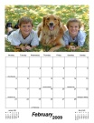 Monthly Photo Calendar