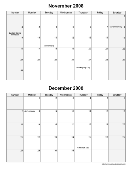 245 x 317 png 12kB, Printable Bi Monthly Calendar CalendarsQuick
