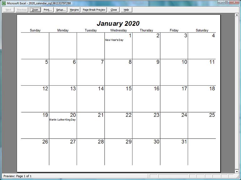 Excel Monthly Calendar Template 2014 Shefftunes