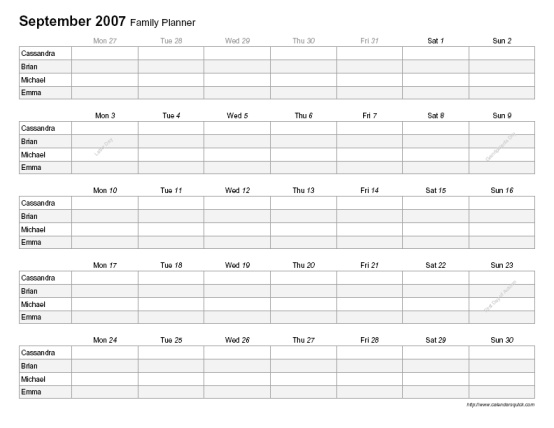 70  pdf calendars and planners